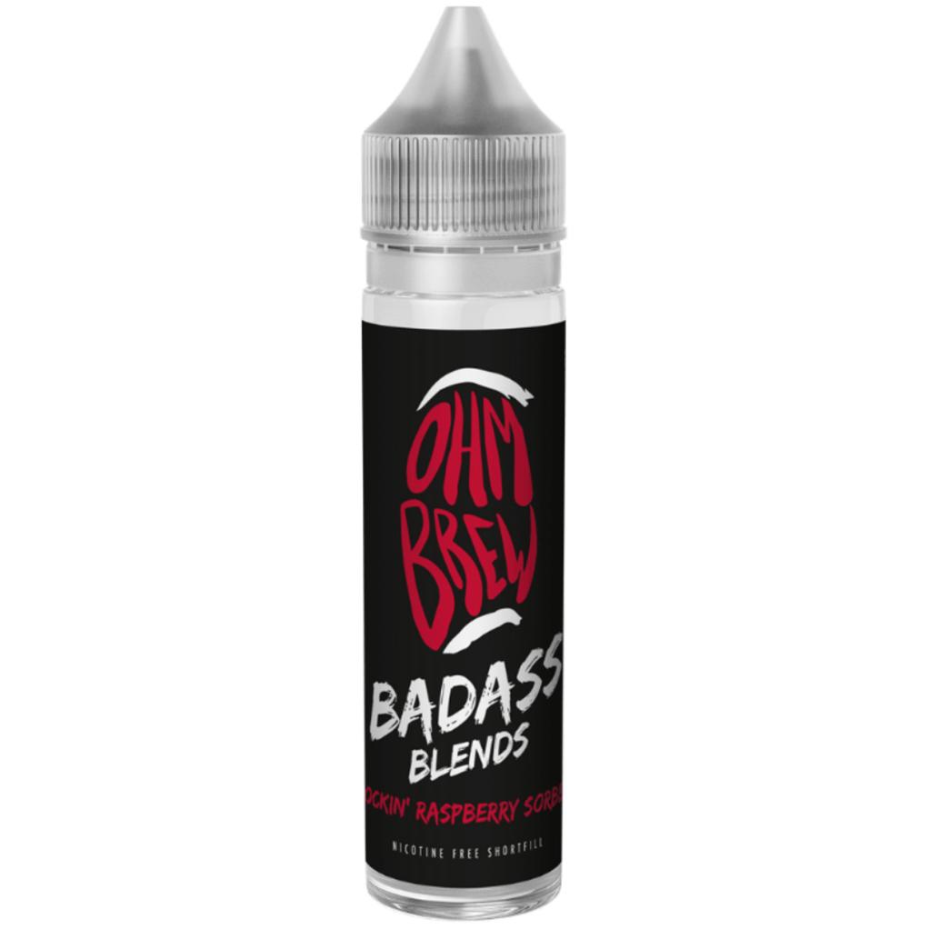 Ohm Brew Badass Blends Rockin' Raspberry Sorbet