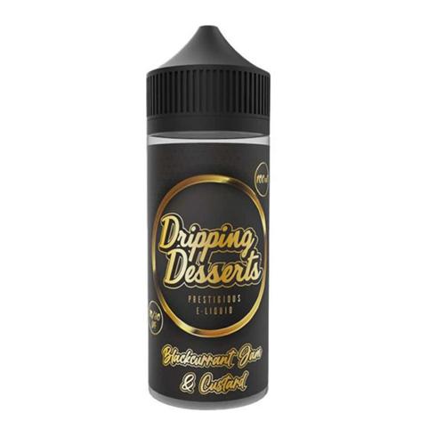 Dripping Desserts Blackcurrant Jam & Custard