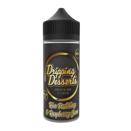 Dripping Desserts Rice Pudding & Raspberry Jam