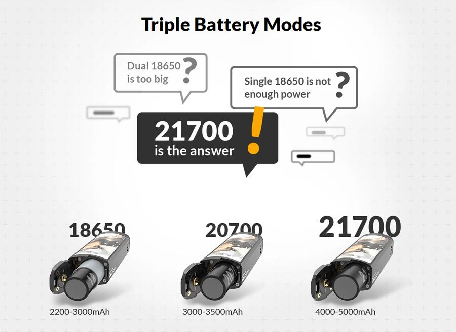 Triple Battery