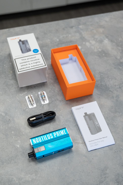Aspire Nautilus Prime Kit - Inside The Box