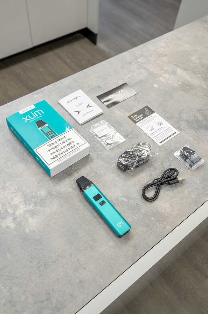 OXVA Xlim Pod Kit - Unboxing