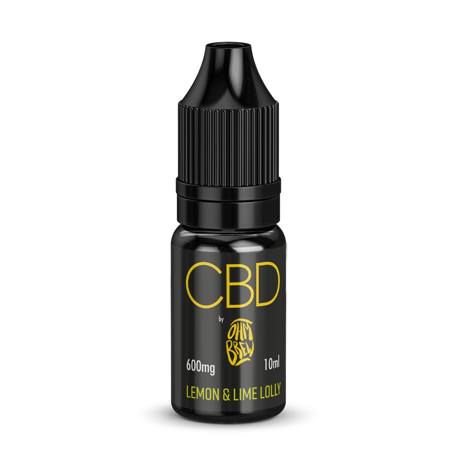 Ohm Brew Lemon & Lime Lolly CBD 600mg